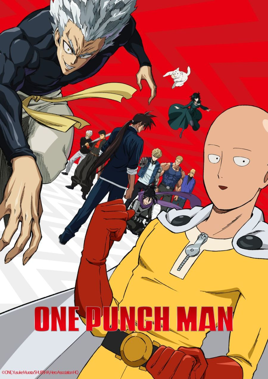 Аниме ТВ - Ванпанчмен ТВ-2 / One-Punch Man TV-2